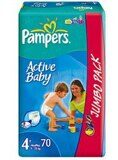 PAMPERS ACTIVE BABY-DRY ПОДГУЗНИКИ РАЗМЕР 4 N70